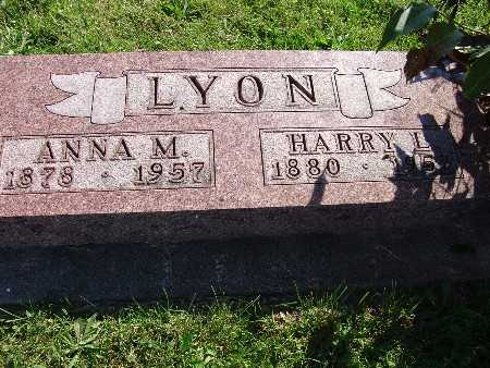 LYON, ANNA M - Warren County, Iowa | ANNA M LYON