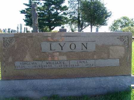 LYON, VIRGINIA - Warren County, Iowa | VIRGINIA LYON