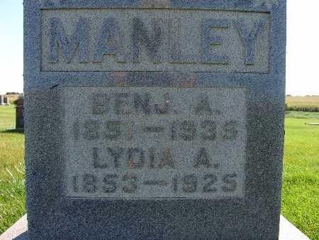 MANLEY, LYDIA A. - Warren County, Iowa | LYDIA A. MANLEY