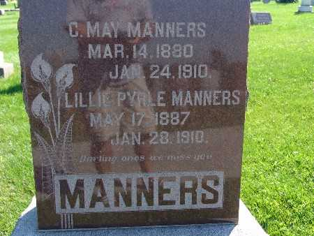 MANNERS, LILLIE PYRLE - Warren County, Iowa | LILLIE PYRLE MANNERS