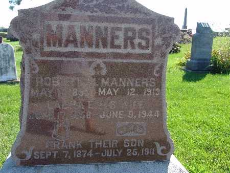 MANNERS, ROBERT M - Warren County, Iowa | ROBERT M MANNERS