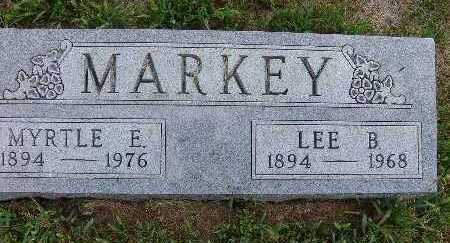 MARKEY, MYRTLE E. - Warren County, Iowa | MYRTLE E. MARKEY