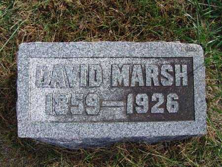 MARSH, DAVID - Warren County, Iowa | DAVID MARSH