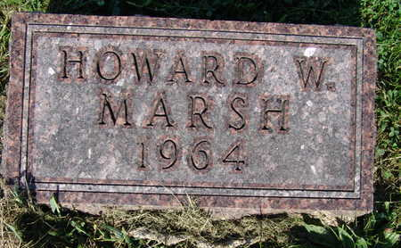 MARSH, HOWARD W. - Warren County, Iowa | HOWARD W. MARSH