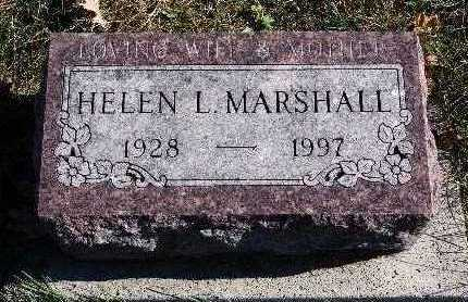 MARSHALL, HELEN L. - Warren County, Iowa | HELEN L. MARSHALL