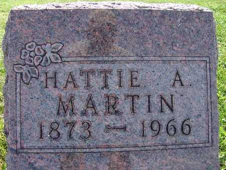 MARTIN, HATTIE A. - Warren County, Iowa | HATTIE A. MARTIN