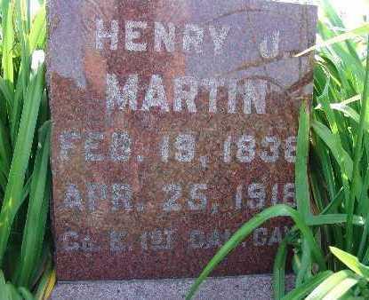 MARTIN, HENRY J. - Warren County, Iowa | HENRY J. MARTIN
