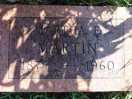 MARTIN, MARTHA E - Warren County, Iowa | MARTHA E MARTIN