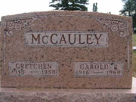 MCCAULEY, GAROLD E. - Warren County, Iowa | GAROLD E. MCCAULEY