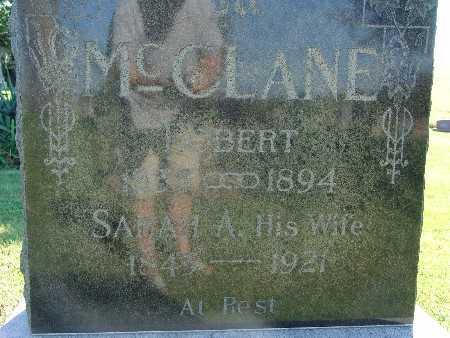 MCCLANE, SARAH A - Warren County, Iowa | SARAH A MCCLANE