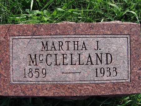 MCCLELLAND, MARTHA J. - Warren County, Iowa | MARTHA J. MCCLELLAND
