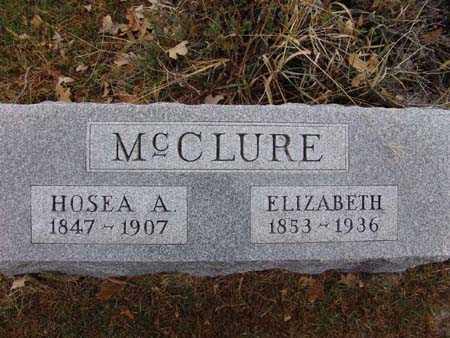 MCCLURE, HOSEA A. - Warren County, Iowa | HOSEA A. MCCLURE