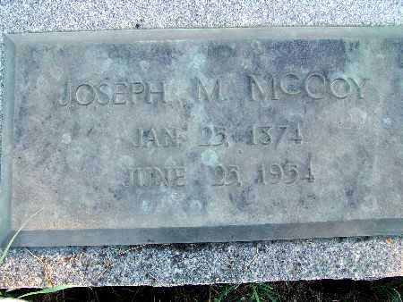 MCCOY, JOSEPH M. - Warren County, Iowa   JOSEPH M. MCCOY