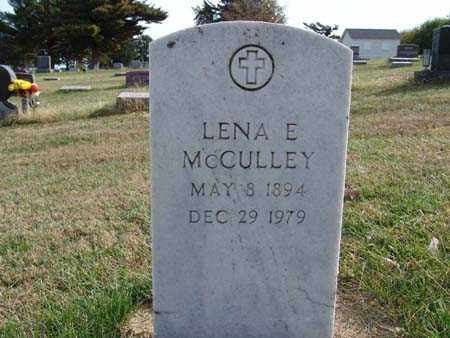 MCCULLEY, LENA E. - Warren County, Iowa | LENA E. MCCULLEY