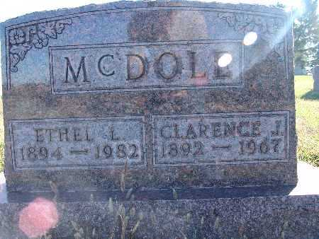 MCDOLE, ETHEL L. - Warren County, Iowa | ETHEL L. MCDOLE