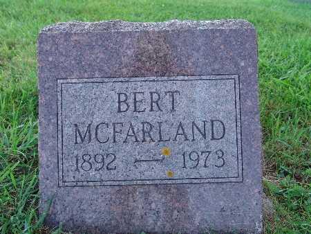 MCFARLAND, BERT - Warren County, Iowa | BERT MCFARLAND