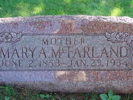 MCFARLAND, MARY A - Warren County, Iowa | MARY A MCFARLAND