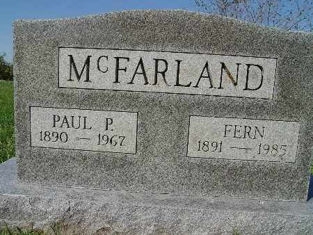 MCFARLAND, FERN - Warren County, Iowa | FERN MCFARLAND