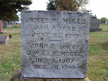MCGEE, JAMES W. - Warren County, Iowa | JAMES W. MCGEE