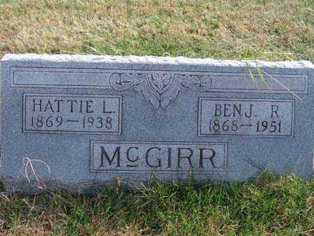 MCGIRR, BENJ. R. - Warren County, Iowa | BENJ. R. MCGIRR