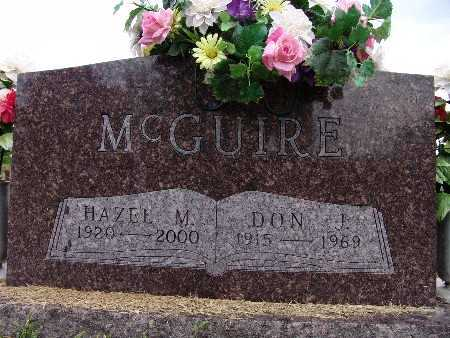 MCGUIRE, DON J. - Warren County, Iowa | DON J. MCGUIRE