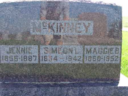 MCKINNEY, JENNIE - Warren County, Iowa | JENNIE MCKINNEY
