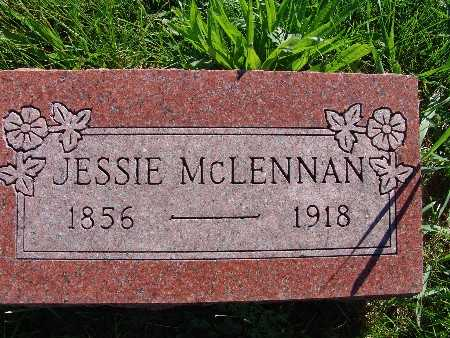 MCLENNAN, JESSIE - Warren County, Iowa | JESSIE MCLENNAN