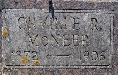 MCNEER, ORVILLE R - Warren County, Iowa | ORVILLE R MCNEER