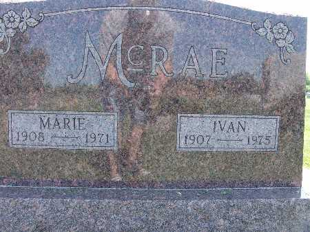 MCRAE, IVAN - Warren County, Iowa | IVAN MCRAE