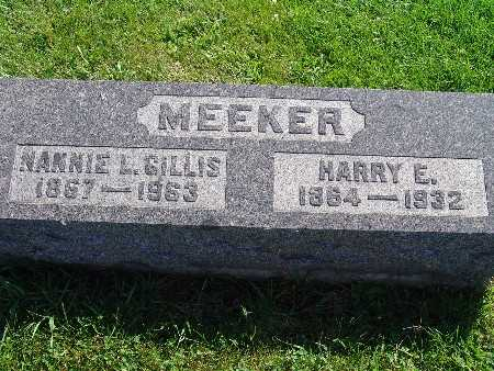 MEEKER, HARRY E - Warren County, Iowa | HARRY E MEEKER