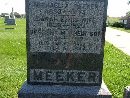 MEEKER, MICHAEL A - Warren County, Iowa | MICHAEL A MEEKER