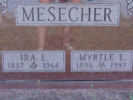 MESECHER, IRA E. - Warren County, Iowa | IRA E. MESECHER