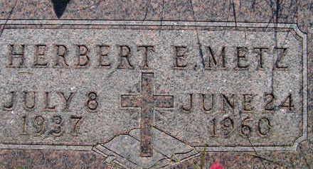METZ, HERBERT E - Warren County, Iowa | HERBERT E METZ