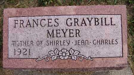 MEYER, FRANCES GRAYBILL - Warren County, Iowa | FRANCES GRAYBILL MEYER