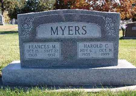 MEYERS, FRANCES M. - Warren County, Iowa | FRANCES M. MEYERS