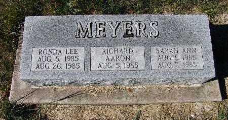 MEYERS, RICHARD AARON - Warren County, Iowa | RICHARD AARON MEYERS