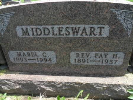 MIDDLESWART, FAY H - Warren County, Iowa | FAY H MIDDLESWART