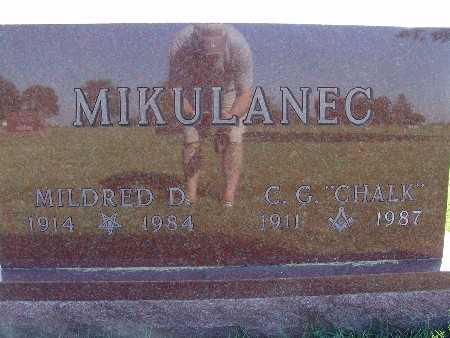MIKULANEC, MILDRED D. - Warren County, Iowa | MILDRED D. MIKULANEC