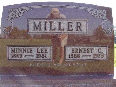 MILLER, MINNIE LEE - Warren County, Iowa | MINNIE LEE MILLER