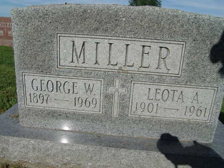 MILLER, GEORGE W. - Warren County, Iowa | GEORGE W. MILLER