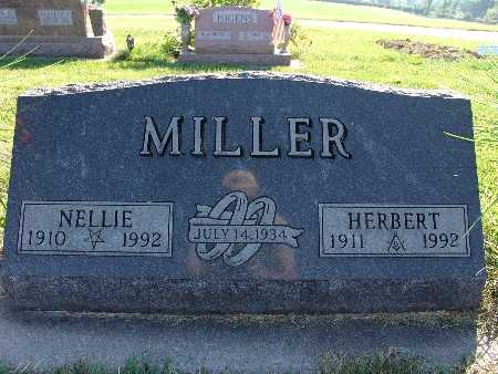 MILLER, NELLIE - Warren County, Iowa | NELLIE MILLER
