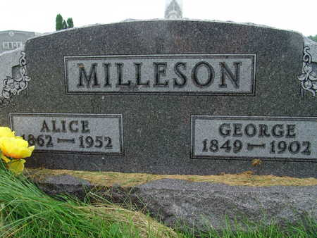 MILLESON, ALICE - Warren County, Iowa | ALICE MILLESON