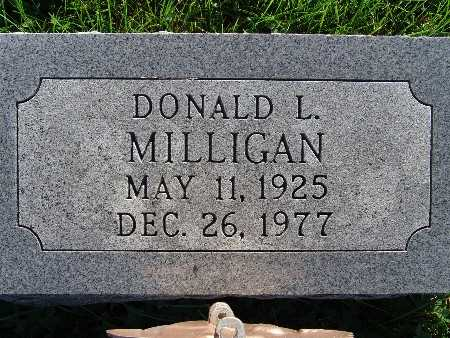 MILLIGAN, DONALD L. - Warren County, Iowa | DONALD L. MILLIGAN