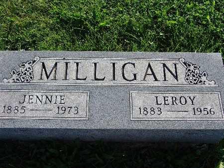 MILLIGAN, JENNIE - Warren County, Iowa | JENNIE MILLIGAN