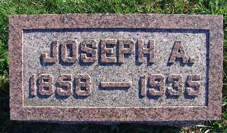 MITCHELL, JOSEPH A. - Warren County, Iowa | JOSEPH A. MITCHELL