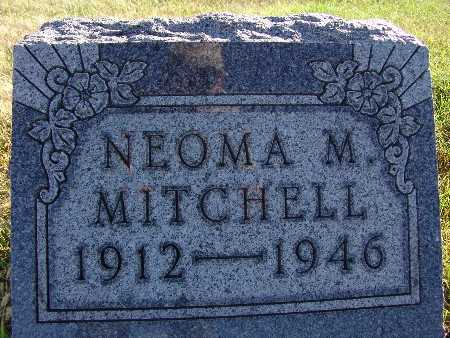 MITCHELL, NEOMA M. - Warren County, Iowa | NEOMA M. MITCHELL