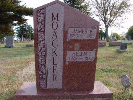 MOACKLER, HELEN I. - Warren County, Iowa | HELEN I. MOACKLER