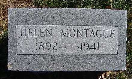 MONTAGUE, HELEN - Warren County, Iowa | HELEN MONTAGUE