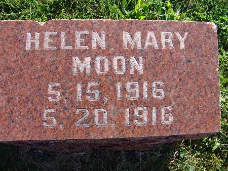 MOON, HELEN MARY - Warren County, Iowa | HELEN MARY MOON