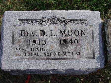 MOON, REV. D. L. - Warren County, Iowa | REV. D. L. MOON